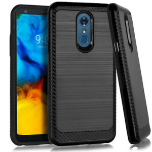 For LG Stylo 4/Stylo 5 Case Shockproof Hard Hybrid Rugged Slim Cover+ Screen