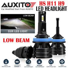 AUXITO H11 H9 H8 LED Headlight Low beam Bulb Kit Fog Light 6000K 20000LM M2 EOA