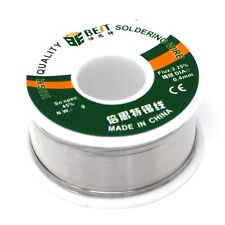 60-40 Tin Lead Rosin Core Solder Wire Soldering Sn60 Pb40 Flux 0.4mm 3.5oz