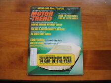 Motor Trend December 1973 Can We Survive Without Cars?