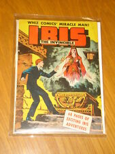 IBIS THE INVINCIBLE #1 VG (4.0) 1942 WHIZ COMICS MIRACLE MAN FAWCETT*