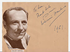 Giga-rare: William Hartnell, original autograph. Doctor Who.