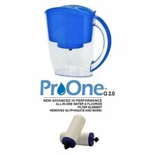 Propur Water Filter Pitcher with 2 ProOne G2.0M Filter Elements