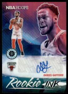 2019-20 Hoops Premium Stock Rookie Ink #11 Daniel Gafford Autograph