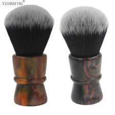 30mm Knot Resin Handle Synthetic Hair  Shaving Brush for Barber Shave Tool