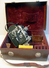 CAMERA PAILLARD BOLEX H 16 Standard -16 mm - 1953  -N°90898 + valisette cuir