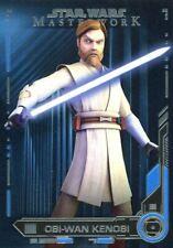 Star Wars Masterwork 2019 Blue Base Card #63 Obi-Wan Kenobi