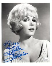 Stella Stevens Hand Signed 8x10 Photo Young+Gorgeous Actress Jsa