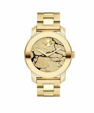 New MOVADO Bold 3600346 Gold Glitter Dial Rose Gold Ion-plated Women's Watch