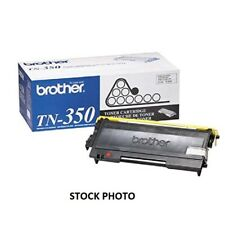 Brother Genuine Black Toner Cartridge, TN350, Replacement