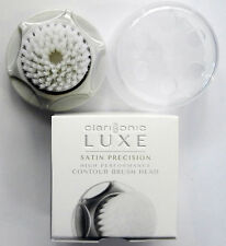 NEW Clarisonic LUXE Satin Precision Facial Brush Head - Retail Packing Box