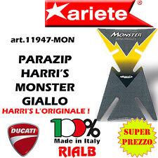 ADESIVO TANKPAD HARRI'S MONSTER GIALLO 11947 -MON ORIGINALE ARIETE per DUCATI