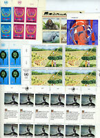 UNITED NATIONS GENEVA LOT OF MINT NH STAMPS FACE VALUE SFr 332  AS SHOWN