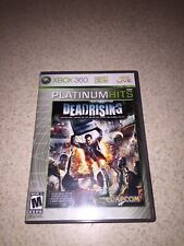 Dead Rising (Microsoft Xbox 360, 2006) XBOX 360 Live  Platinum Hits Zombies Free