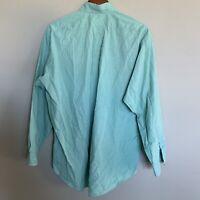 Polo Ralph Lauren Sage Green Blake Mens Button Down Shirt Size M L/S