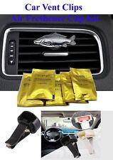 Carpa Peltre Cuero Clip De Ventilación De Coche Ambientador de Aire Kit de decoración de código F42 peces