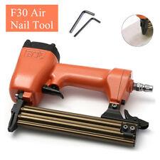 2 in1 Air Brad Nail Gun Stapler Finish Nailer Pneumatic Finishing Wood Framing !