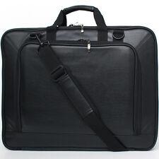 Burnoaa 18/18.4/19 Inch Laptop Case Memory foam Padded Shoulder Bag Black (SL) i