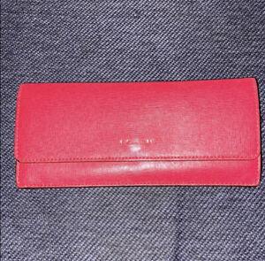 coach envelope slim wallet