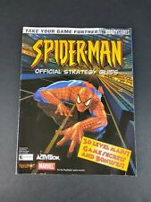 Spider-Man - Bradygames Official Strategy Guide PlayStation PS1 2000 Neversoft