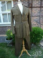 Pre WWII British Army RE Officer's Field Dress Uniform Jacket & Trousers