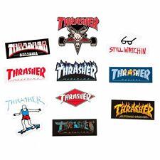New listing Thrasher Magazine 10 Set Sticker Variety Pack Skateboard Punk Logo Decals
