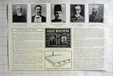 1905 Railway Enterprise By Poster, Great Northern, Mr Wh Brittain Addresses King