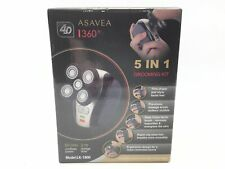 Asavea Men's 5 in 1 Rechargeable Electric Shaving and Grooming Kit LK-1800