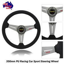 350mm TITANIUM Racing Car Sport Steering Wheel