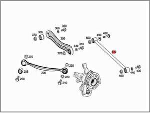Genuine MERCEDES V251 C292 W164 W166 X164 X166 Tie rod 1663500053
