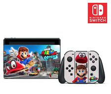 Super Mario Odyssey Vinilo Pegatina Juego Para Nintendo Interruptor