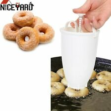 Portable Lightweight Mini Donut Maker - Manual Donut Droper Plunger Baking Tool
