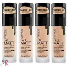 Catrice All Matt Plus Foundation Shine Control Make Up Mattifying High coverage