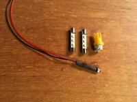 LED LAMP KIT KR-4070 RECEIVER(8v RED & AMBER YELLOW )DIAL METER/KR-4770 KENWOOD