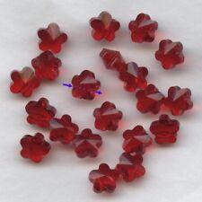 5744 8 LS *** 6 perles-fleur de Swarovski réf. 5744 8mm LIGHT SIAM