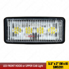 RE306510 RE161288 RE37450 LED Front Hood or Upper Cab Light FLOOD Sealed beam x1