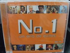 No. 1 Un Año De Exitos, Vol. 4 CD BRAND NEW Latin Ricardo Arjona CELIA CRUZ Sanz