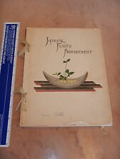 1937 JAPANESE FLOWER ARRANGEMENT BOOK JOSUI OSHIKAWA & HAZEL GORHAM