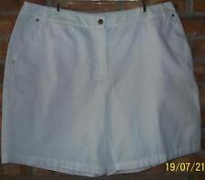 Jones New York Women Size 12 White Shorts NEW Retail $39