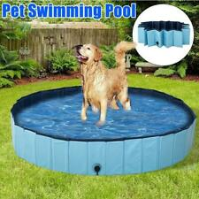 Foldable Dog Pool Pet Swimming Pool Pet Summer Best Bathing Tub for Dogs Cats