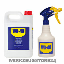 WD40 Multifunktionsprodukt 5 Liter Kanister inkl. Zerstäuber Kriechöl Rostlöser