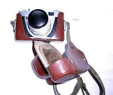 DDR Kamera Altissa Altix-n mit Carl Zeiss Jena Tessar 2,8/50 und Tasche (114152)