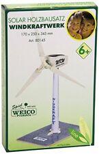 Windkraftwerk mit Solarantrieb Holzbausatz 80145 Weico solar Windrad