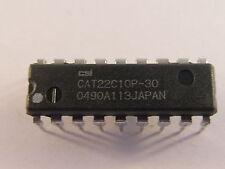 2 trozo cat22c10p30 CSI 256-bit Nonvolatile CMOS Static RAM 300ns (ae12/3819)