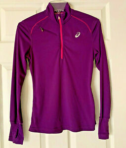 Women's ASICS Active Jacket/Pull over/Purple/SMALL/Long Sleeve