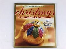 Christmas Ornaments to Make 101 Sparkling Holiday Trims 2002 Paperback