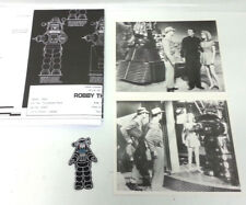 Forbidden Planet Robby the Robot Collection- 2 B&W Lithos/Patch/Blueprint Poster