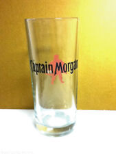 Captain Morgan Spiced Rum liquor cocktail drink glass barware slight smudge NR3