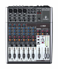 NEW Behringer 1204USB 12-Channel USB Mixer Board w/ Phantom-Powered Mic Preamp