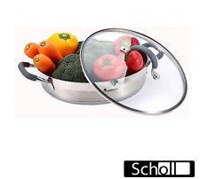 Masterpro  Servierpfanne mit Glasdeckel 28 cm - 3,8 Liter